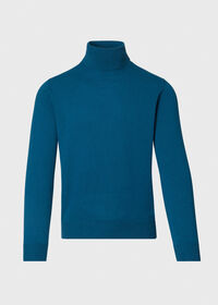 Wool and Cashmere Blend Turtleneck Sweater, thumbnail 1
