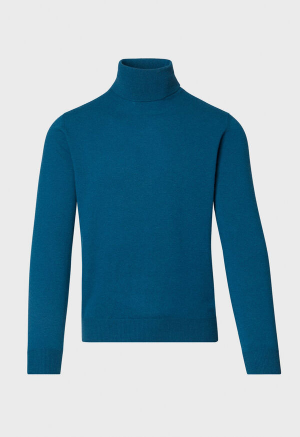 Wool and Cashmere Blend Turtleneck Sweater, image 1