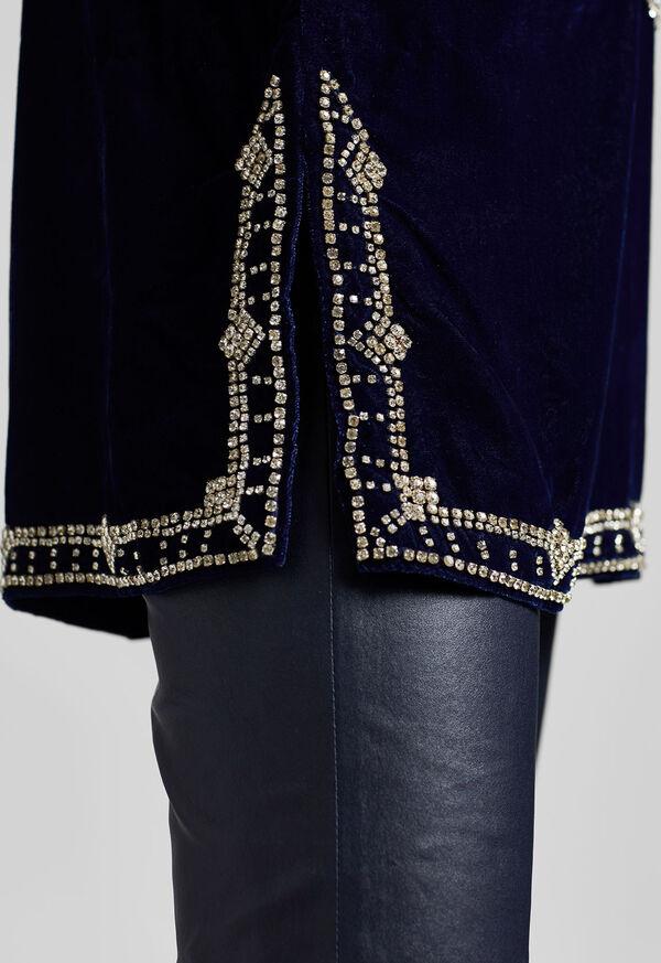 Diamond Velvet Tunic, image 7