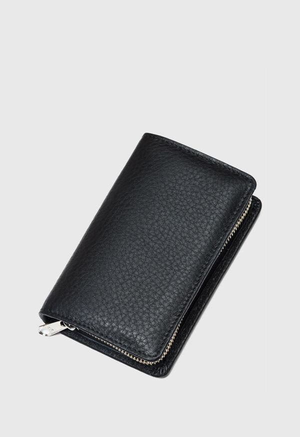 Deerskin Leather Travel Shaving Kit, image 1