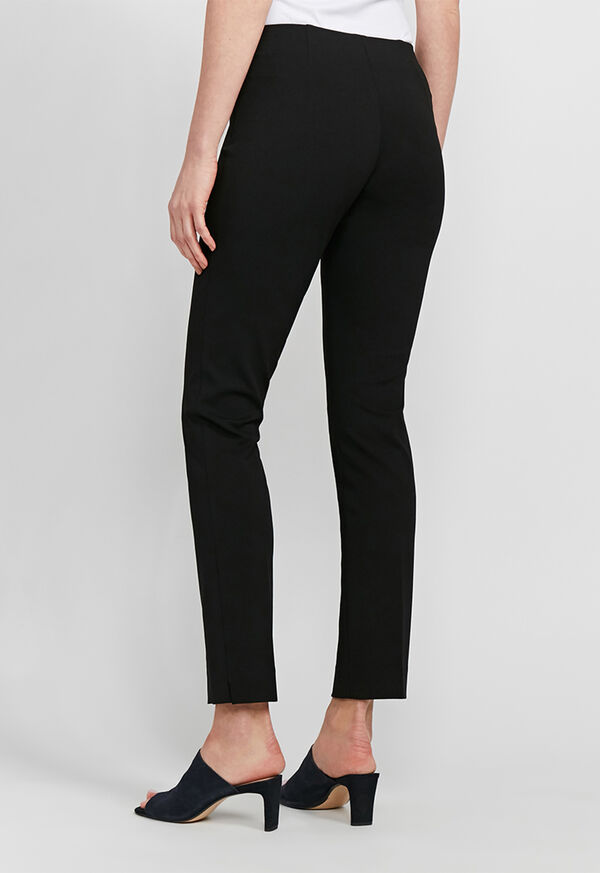Crepe Side Zip Pant, image 5