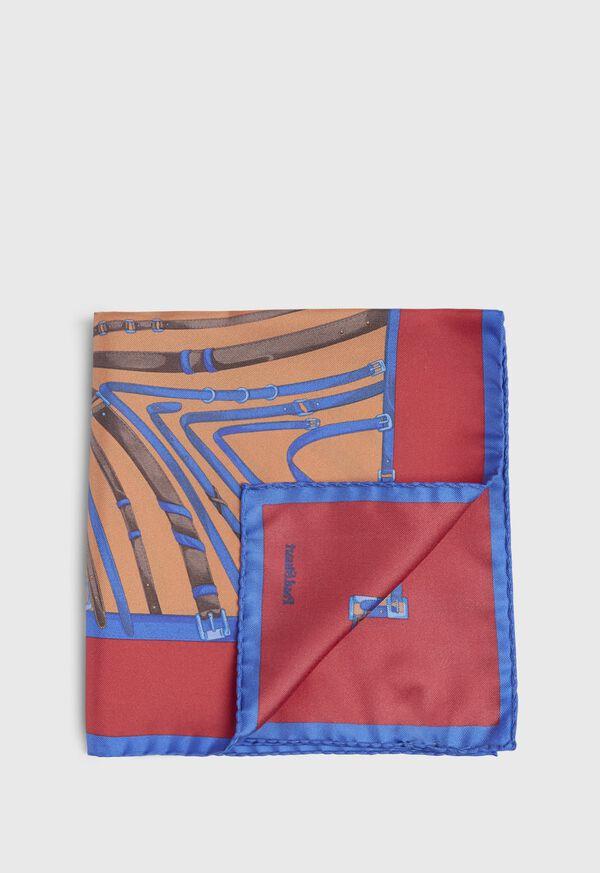 Belts and Bits Pocket Square, image 1