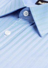 Blue Herringbone Dress Shirt, thumbnail 2