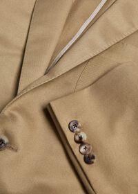 Paul Fit Solid Khaki Sport Jacket, thumbnail 2