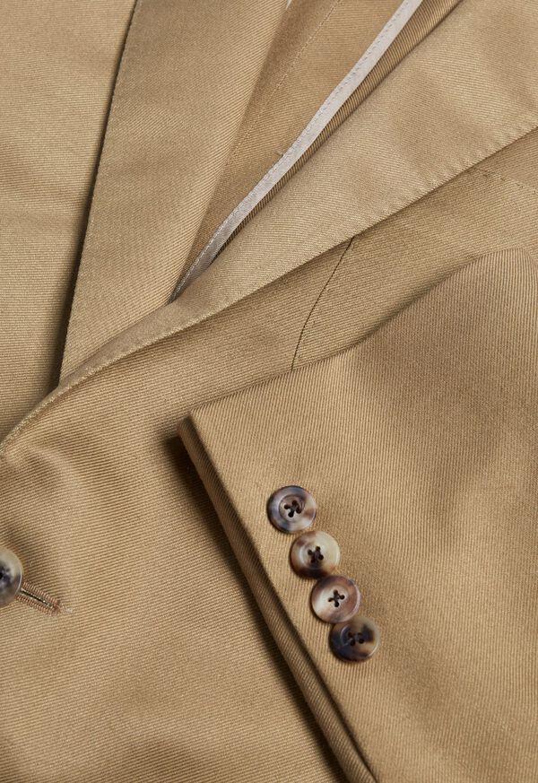 Paul Fit Solid Khaki Sport Jacket, image 2