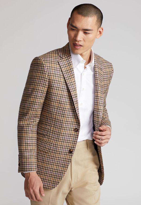 Paul Fit Wool Check Sport Jacket, image 2
