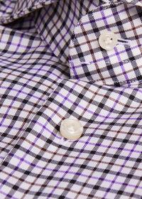 Extreme Cutaway Collar Tattersall Shirt, thumbnail 2
