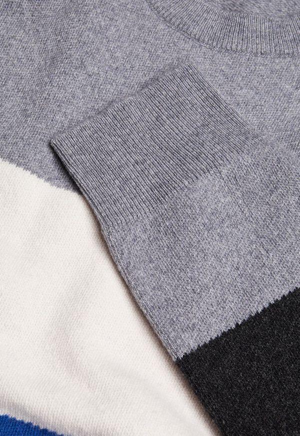 Block Stripe Wool Blend Sweater, image 2