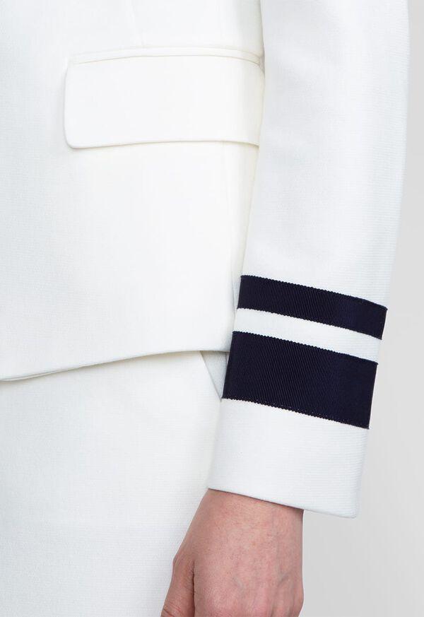 Striped Two Button Blazer, image 3