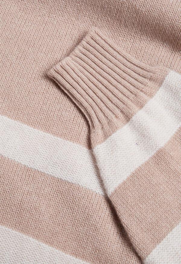 Turtleneck Stripe Sweater, image 2
