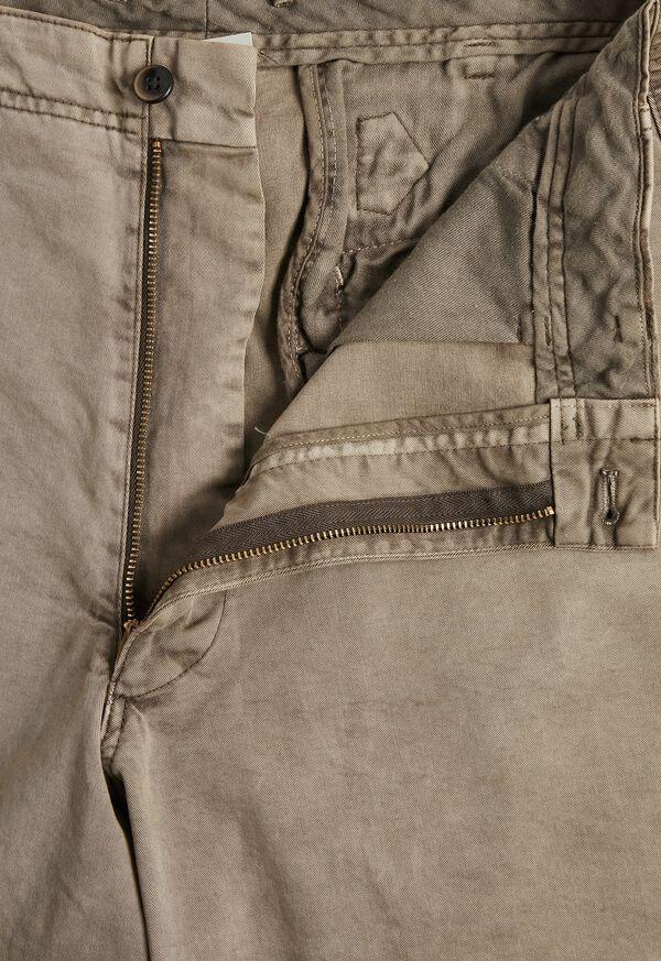 Cotton Blend Back Adjustment Pant, image 2
