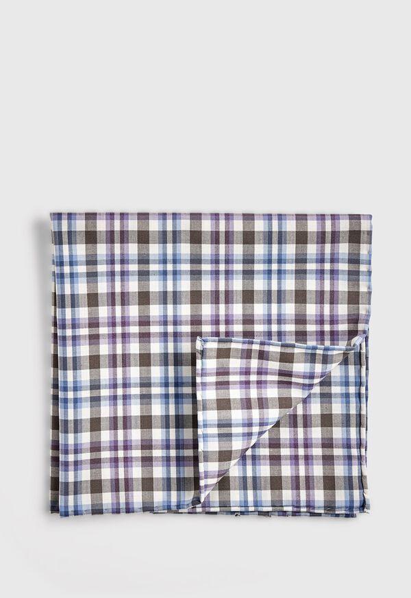 Plaid Pocket Square, image 1