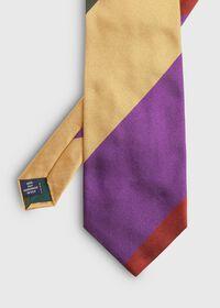 Wide Stripe Silk Tie, thumbnail 2
