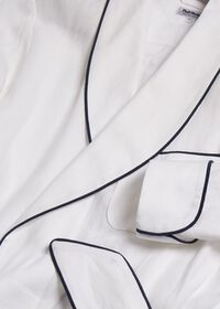 Solid Linen Robe, thumbnail 2