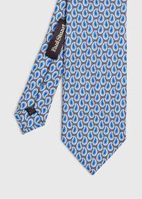 Allover Pine Silk Tie, thumbnail 1