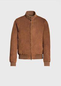 Suede Blouson Jacket, thumbnail 1