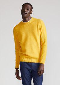 Brushed Merino Wool Sweater, thumbnail 2