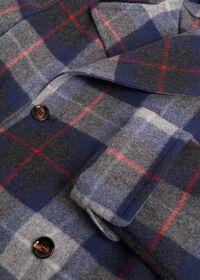 Tartan Plaid Wool Overcoat, thumbnail 2