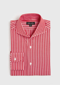 Oxford Wide Stripe Dress Shirt, thumbnail 1