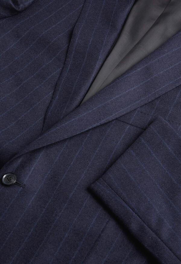 Tonal Blue Stripe Suit, image 2