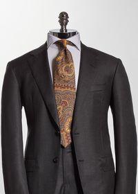 Cotton Flannel Paisley Tie, thumbnail 2