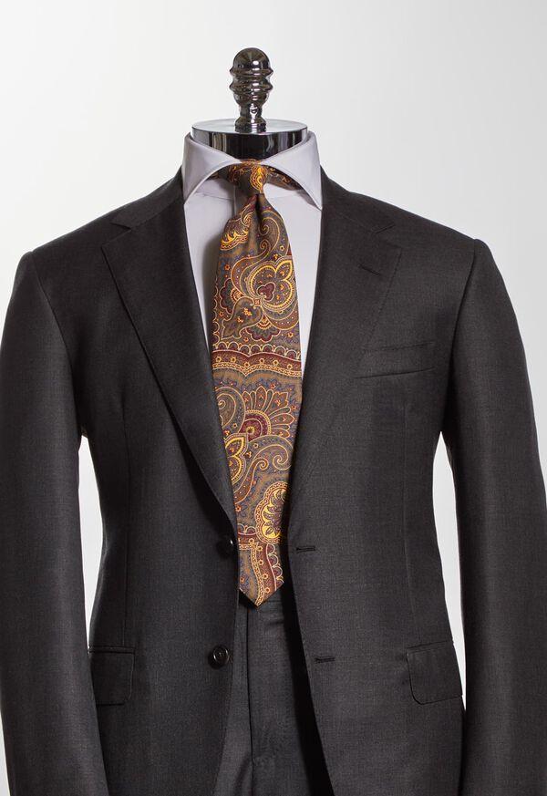 Cotton Flannel Paisley Tie, image 2