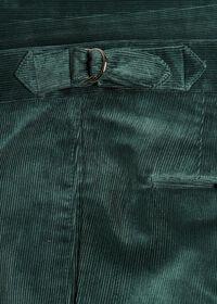 Flat Front Corduroy Trouser, thumbnail 2