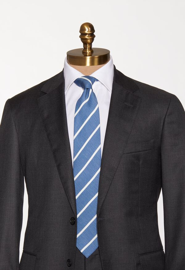 Narrow Stripe Tie, image 3