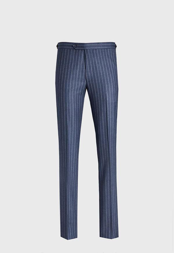 Paul Fit Chalk Stripe Super 120s Wool Suit, image 6