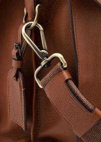 Bridle Leather Briefcase with Shoulder Strap, thumbnail 3
