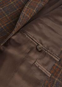 Brown Plaid Sport Jacket, thumbnail 3