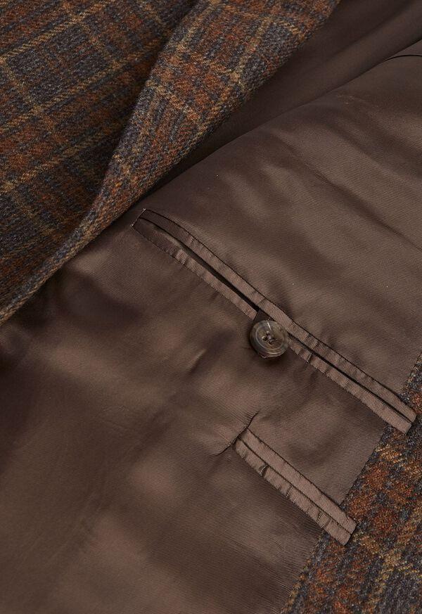 Brown Plaid Sport Jacket, image 3