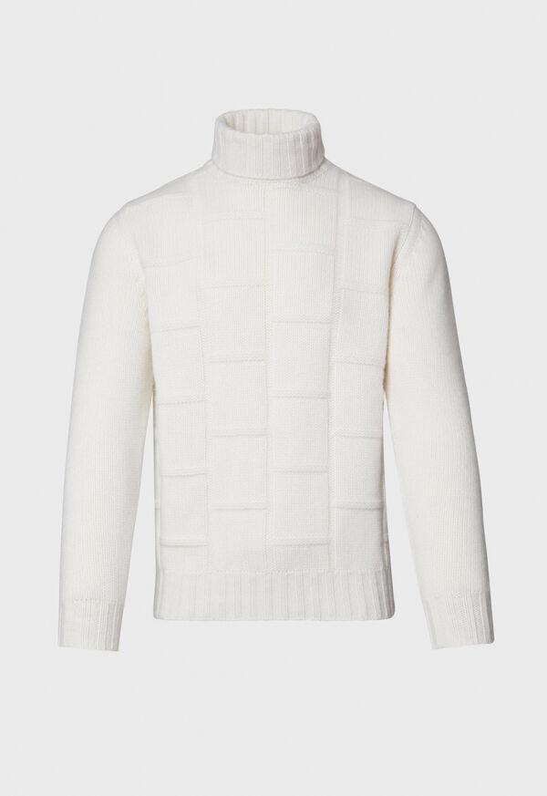 Tonal Patterned Sweater