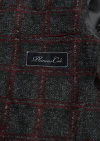 Single Breasted Plaid Soft Jacket, thumbnail 3