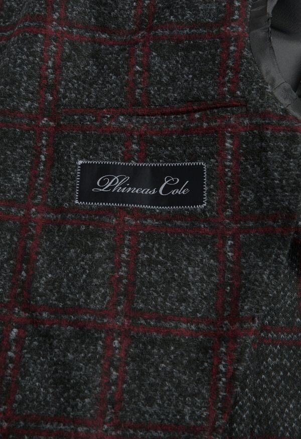 Single Breasted Plaid Soft Jacket, image 3
