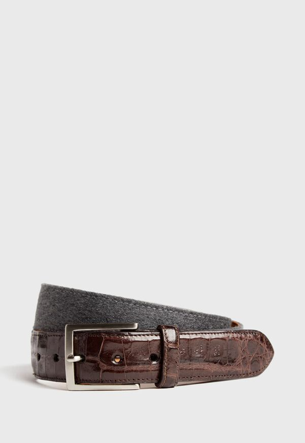 Crocodile Tip Belt, image 1