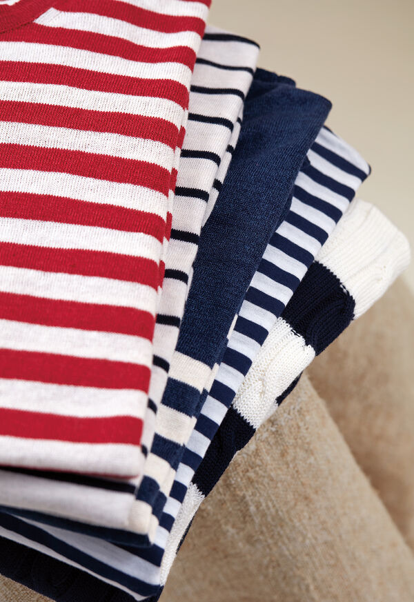 Our Stripe Sweaters, image 1