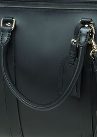 Leather Contrast Stitch Briefcase, thumbnail 3