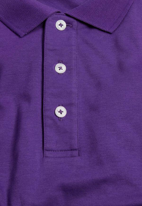Pima Cotton Interlock Polo, image 10