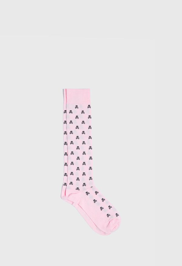 Skull and Crossbones Motif Sock, image 1