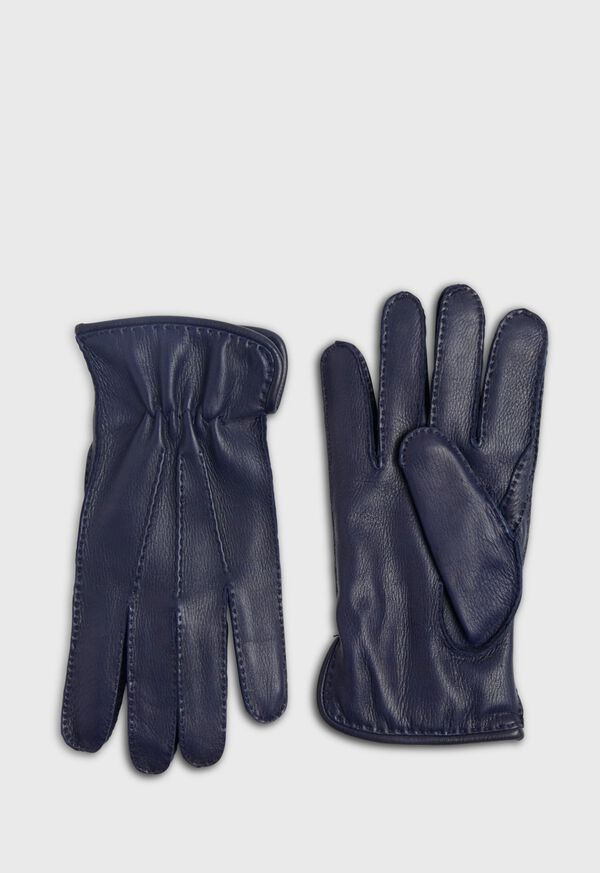 Deerskin Leather Glove with Cashmere Lining, image 1