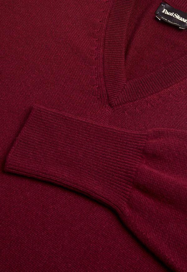 Scottish Cashmere V-Neck Sweater, image 43
