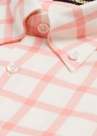 Windowpane Brushed Flannel Sport Shirt, thumbnail 2
