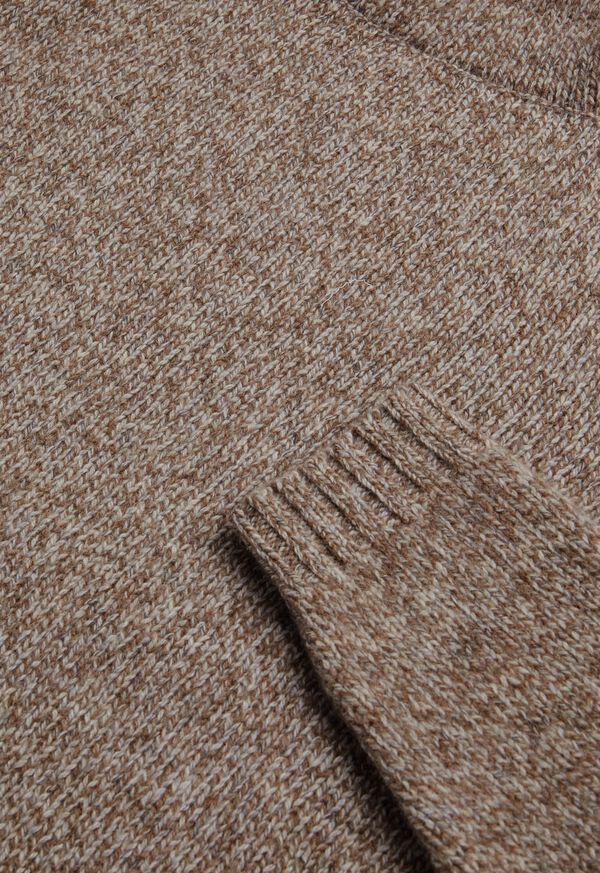 Melange Turtleneck Sweater, image 2