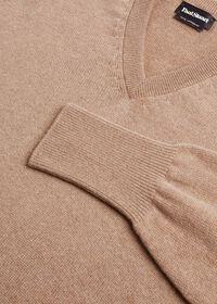 Scottish Cashmere V-Neck Sweater, thumbnail 3