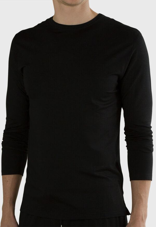 Jersey Knit Lounge T-Shirt, image 2