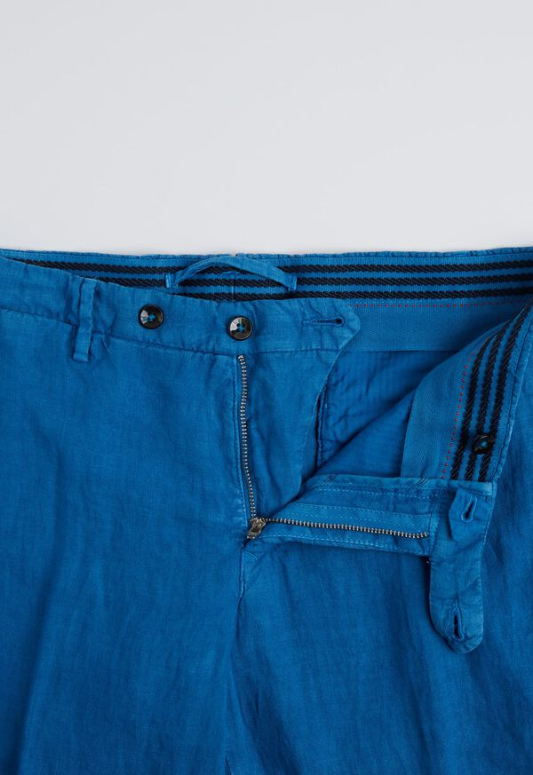 Linen Garment Dyed Pant, image 2