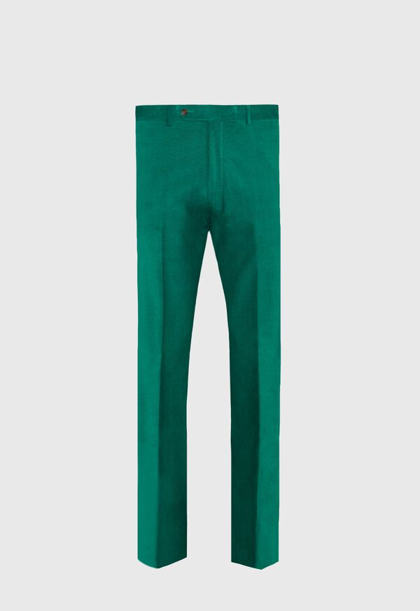 Green Horizontal Corduroy Pant