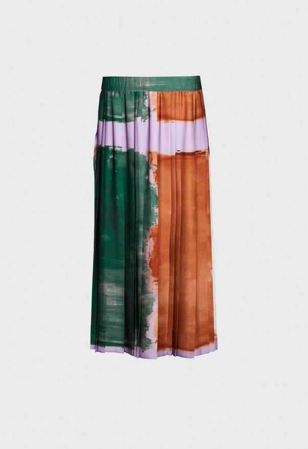 Abstract Print Skirt, image 1