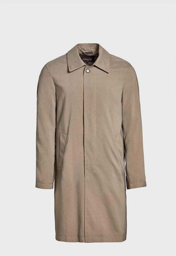 Suede Finish Raincoat, image 1